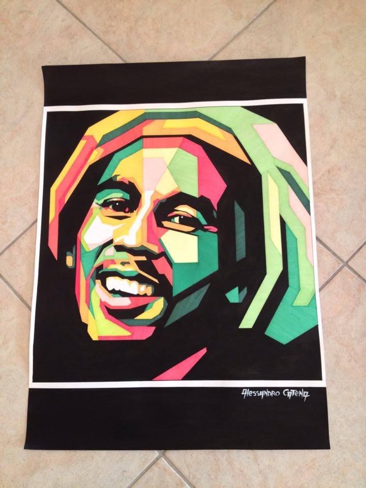 Alessandro Catena. Bob Marley