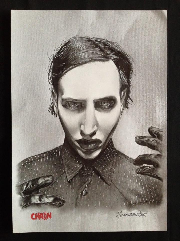 Alessandro Catena. Marilyn Manson