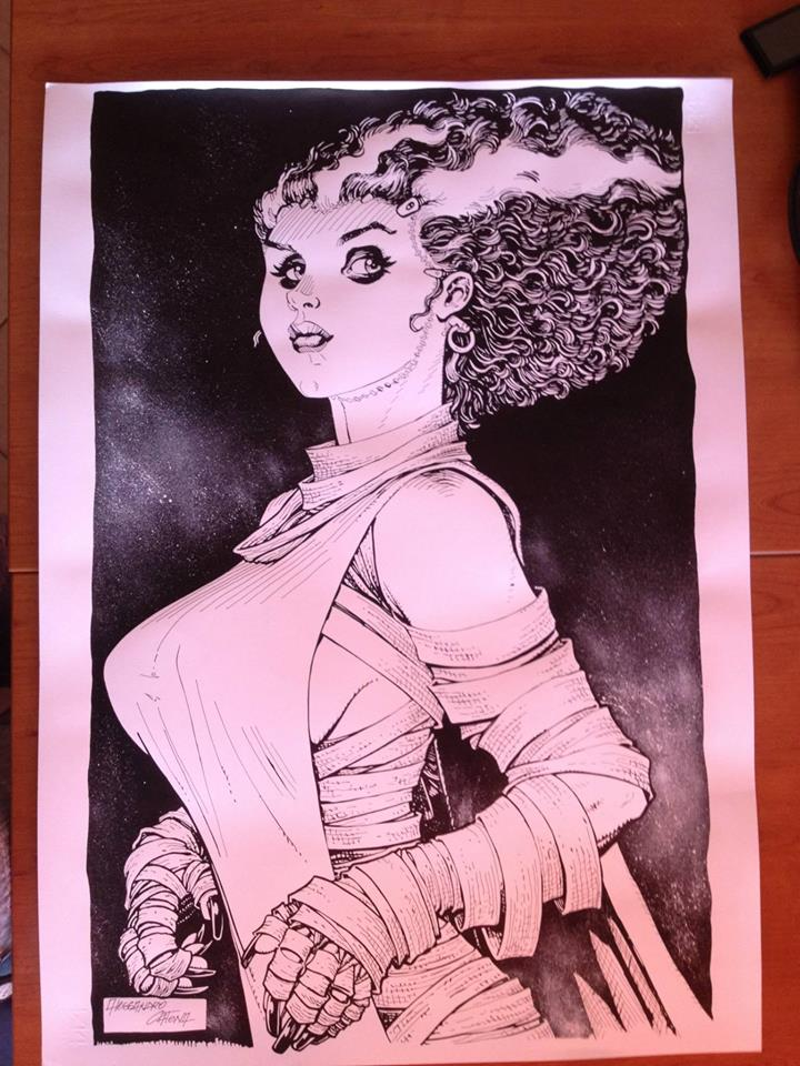 Alessandro Catena. The bride of Frankenstein