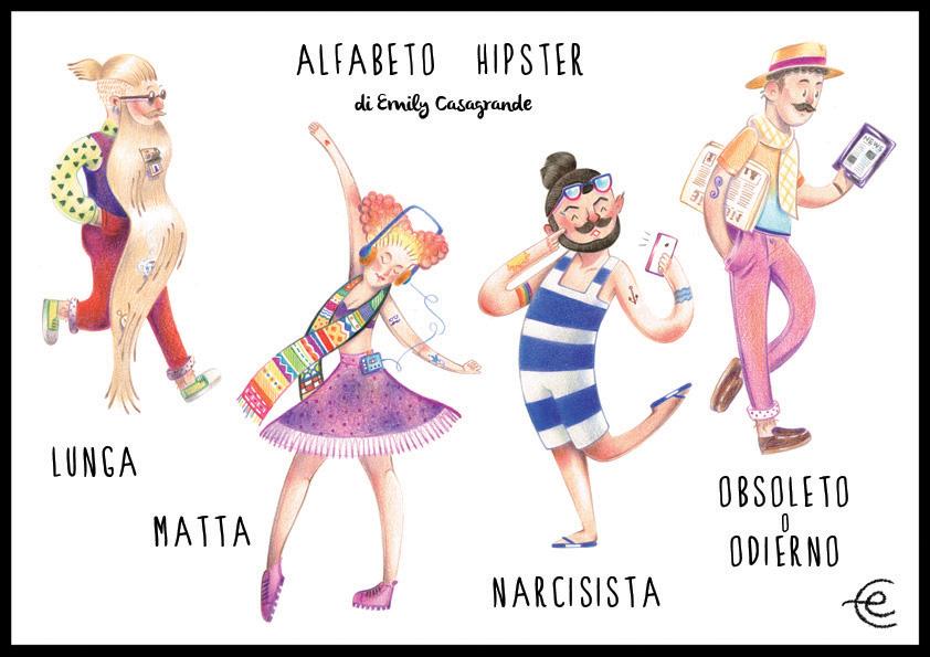 ECasagrande  - alfabeto hipster LMNO - web