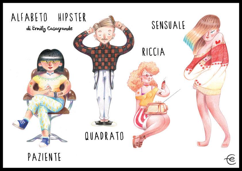 ECasagrande - alfabeto hipster PQRS - web