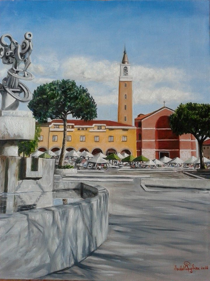 Isabella Pugliese. Piazza Roma, Aprilia