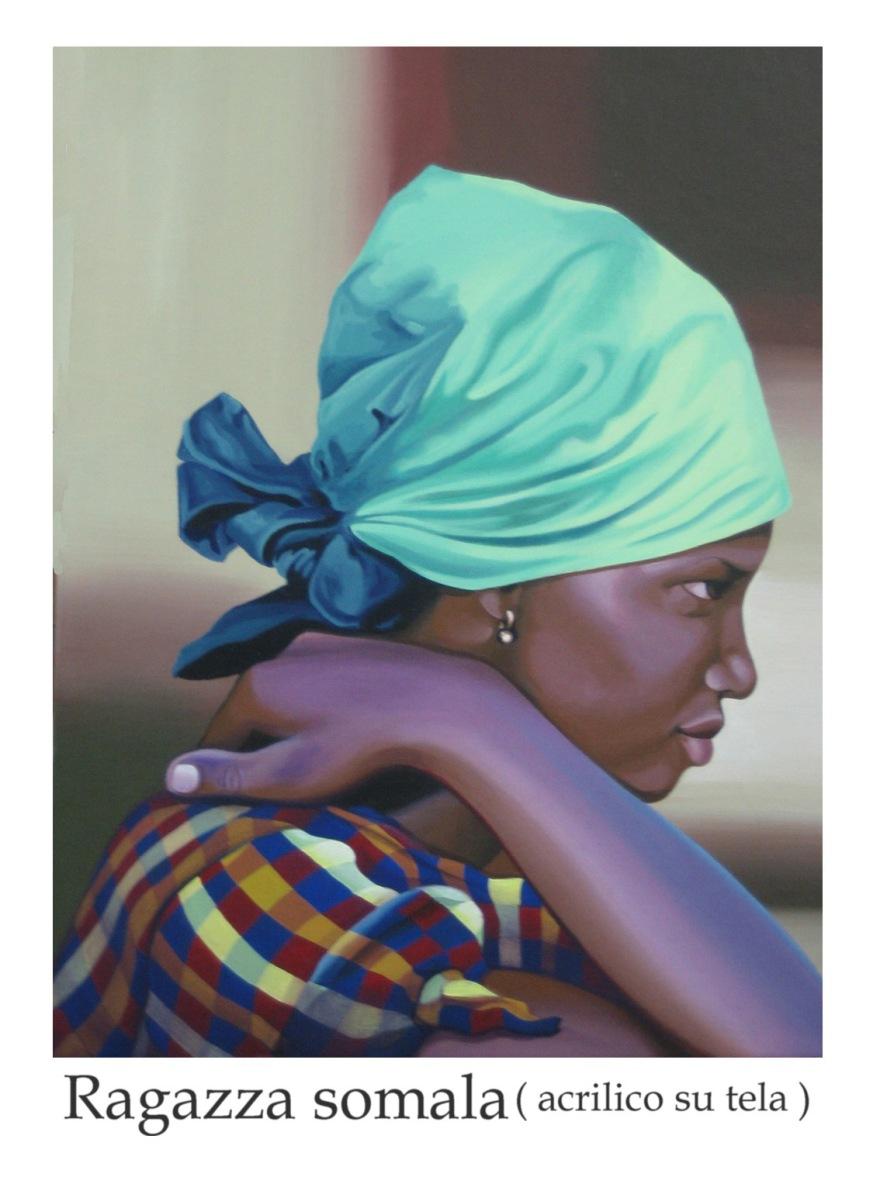 fanciulla africana