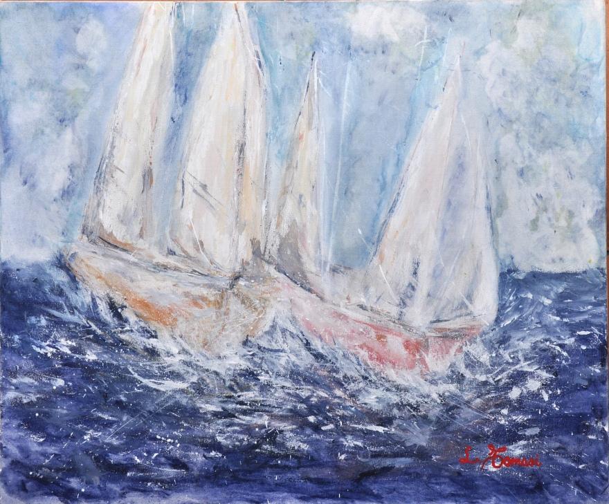 barche-in-tempesta-acrilico-su-tela-50x60-cm-2014