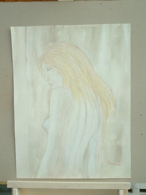 figura-acquerello-sanguigna-42x55-cm-1988