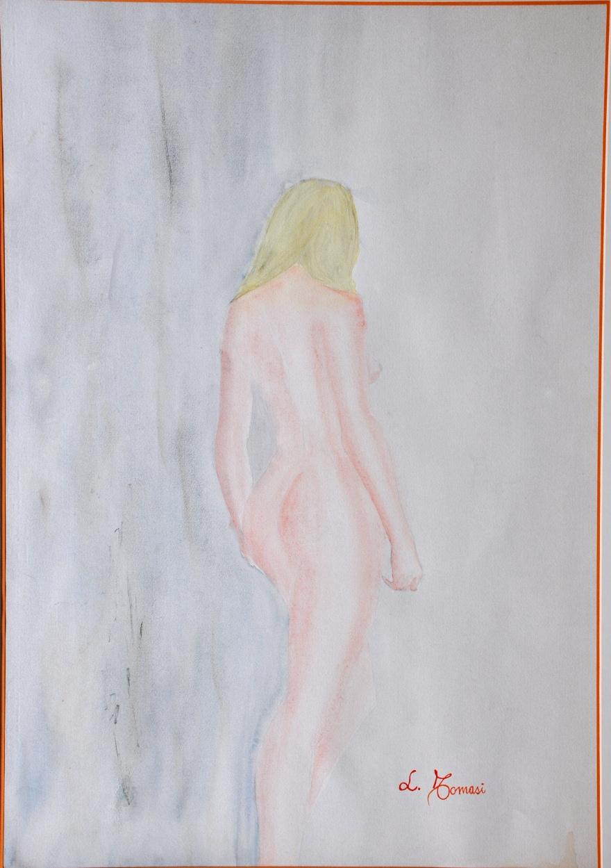 figura-acquerello-su-carta-50x70-cm-1980